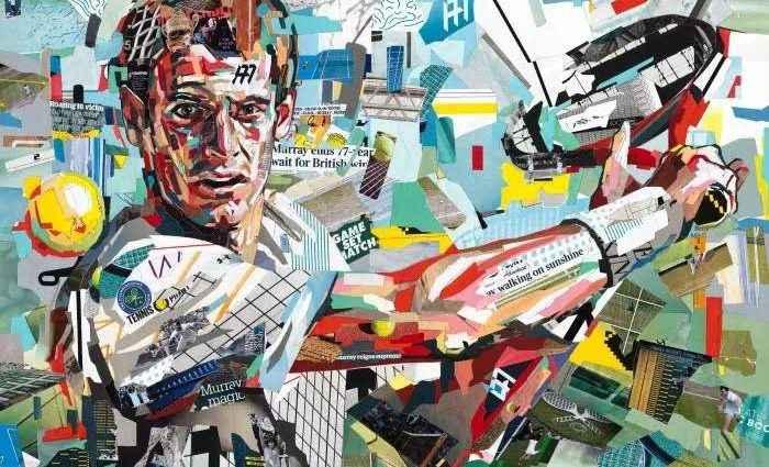 Британский художник-коллажист. Patrick Bremer (коллаж) 1