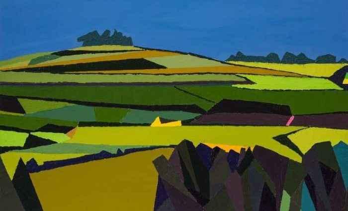 Британский художник. Paul Jackson 1