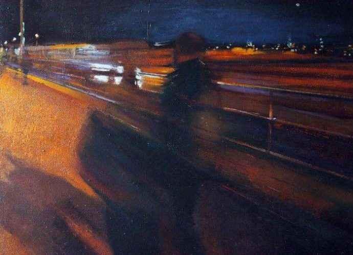 Шотландский художник. Paul Mowat 131