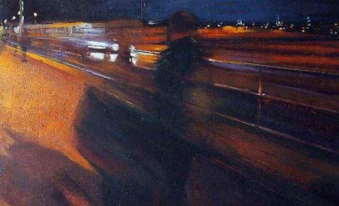 Шотландский художник. Paul Mowat 1