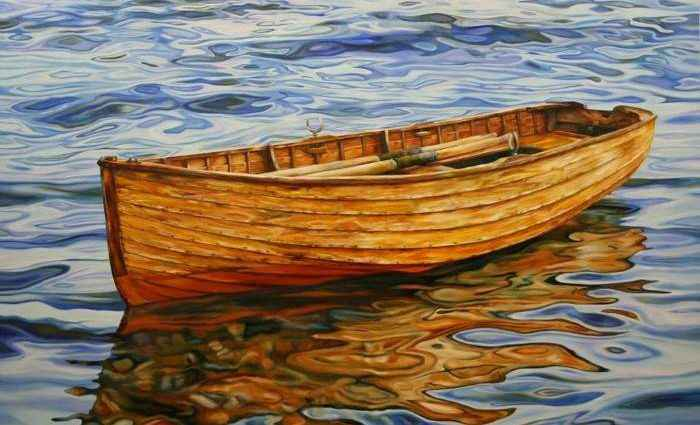 Картины с водой. Peter Goodhall 1