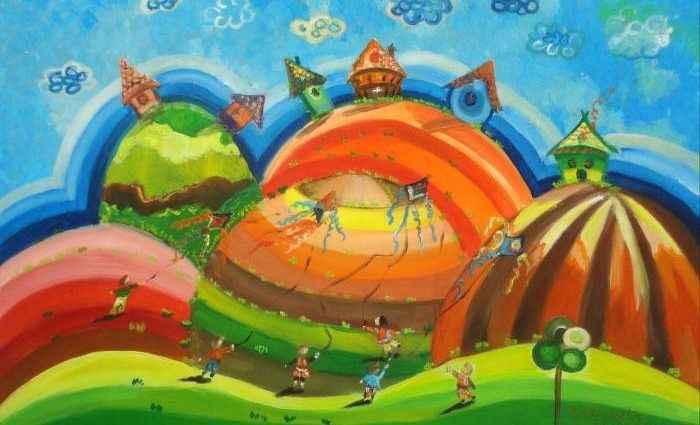 Сочные и яркие краски. Болгарский художник. Radosveta Zhelyazkova 1