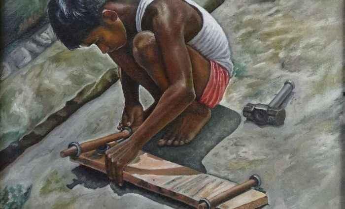 Индийский художник. Картины об индийской культуре. Ramya Sadasivam 1