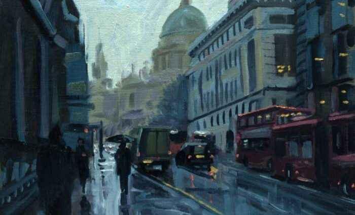 Британский художник. Rob Adams 1