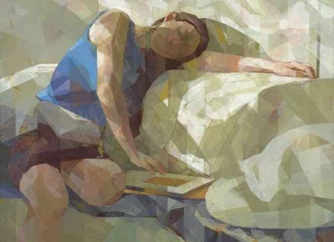 Японский художник. Ryoko Tajiri 321