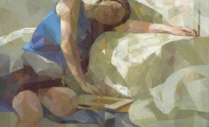 Японский художник. Ryoko Tajiri 1