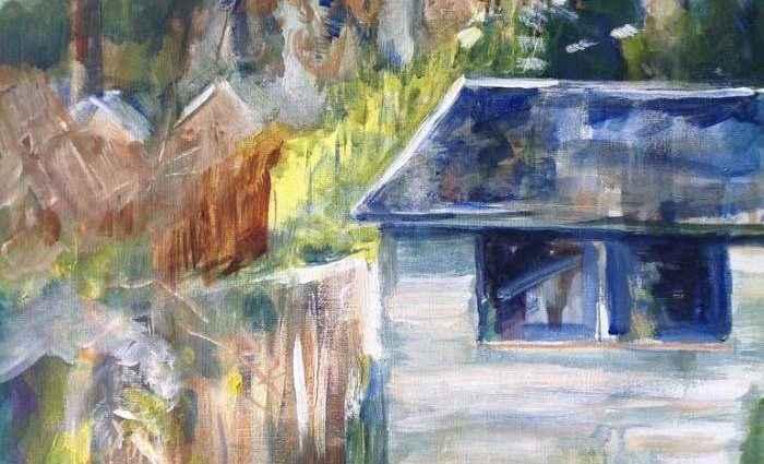 Баланс между абстракцией и реализмом. Sandra Haney 1