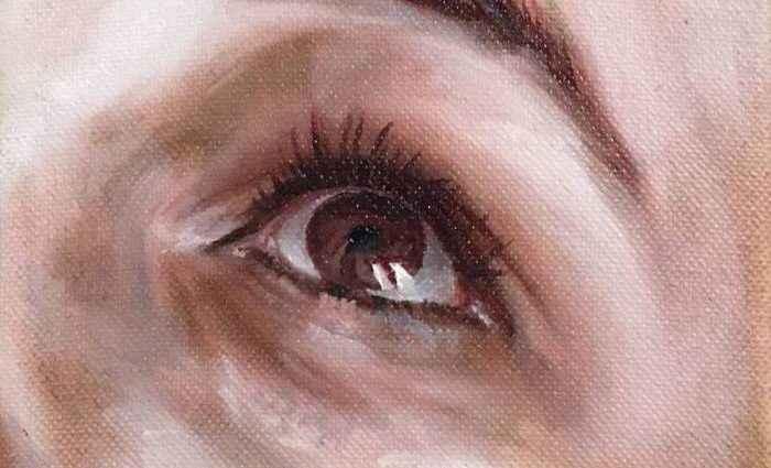 Часть портрета. Shaina Craft 1