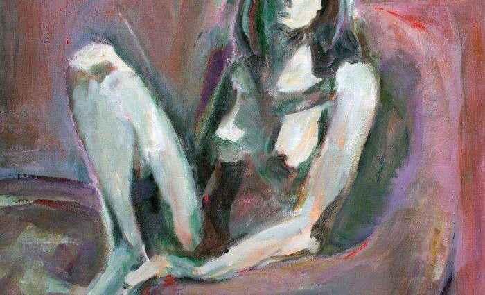 В импрессионистском стиле и смелых, ярких цветах. Sharon Sieben 1