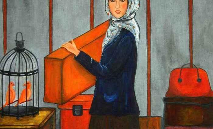 Уругвайский художник. Silvia Regueira 1