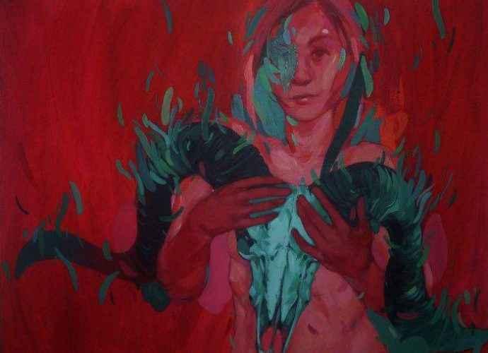 Молодой болгарский художник. Simona Ruscheva 210