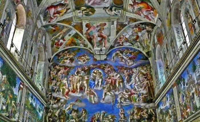 Микеланджело: Потолок Сикстинской капеллы 1