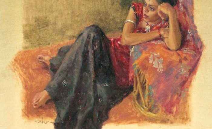 Индийский художник. Snehal Page 1