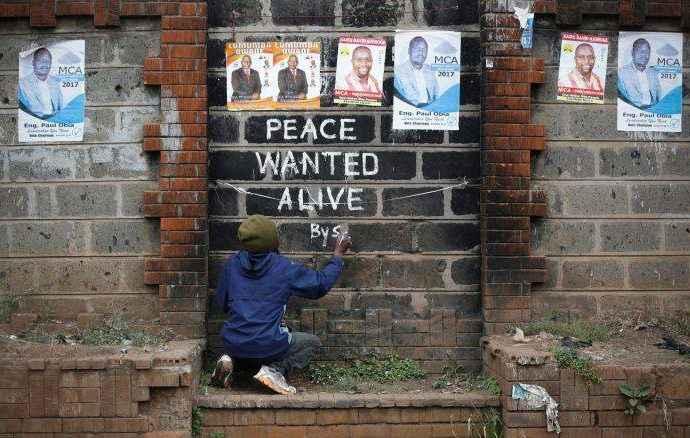 Непростая история художника из кенийских трущоб. Solomon Muyundo, a.k.a. Solo7 25