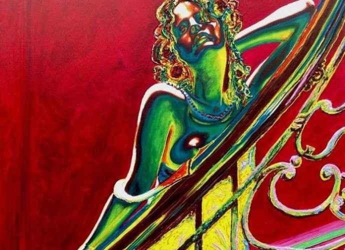 Современный и яркий стиль. Ирландский художник. Stuart S Murray 63