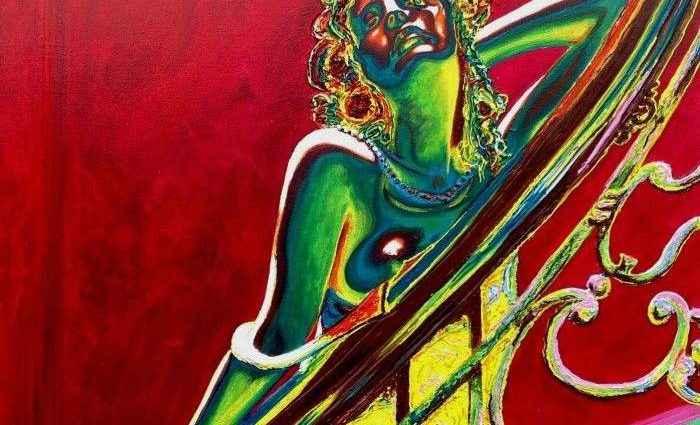 Современный и яркий стиль. Ирландский художник. Stuart S Murray 1