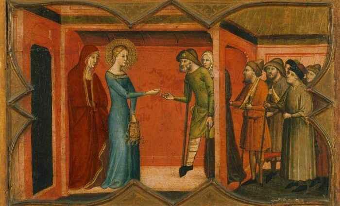 Итальянская живопись позднего средневековья 1