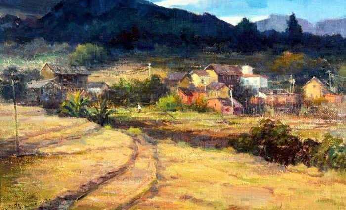 Китайский художник. James Chang 1