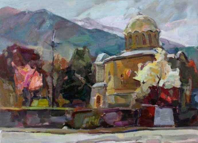 Армянский художник. Taron Khachatryan 58