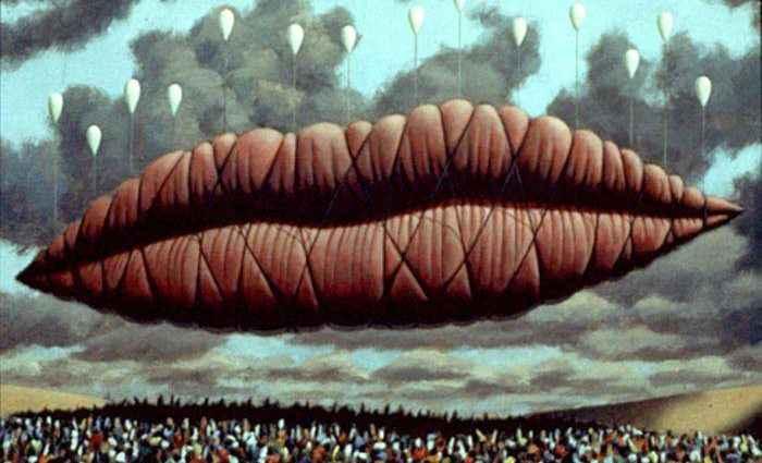 Американский художник-сюрреалист. Thomas Segars 1