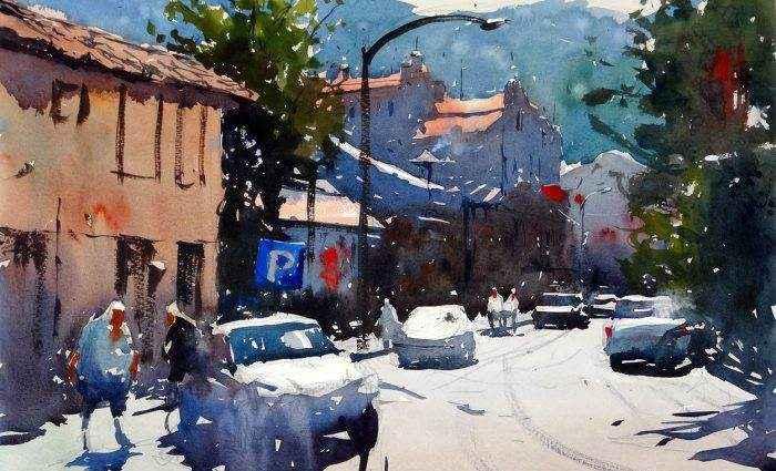 Акварельная живопись. Tim Wilmot 1