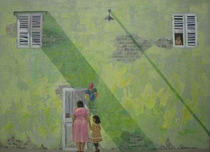 Вьетнамский художник. Tran Quoc 37