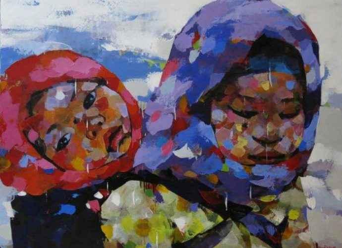 Вьетнамский художник. Van Chu 31
