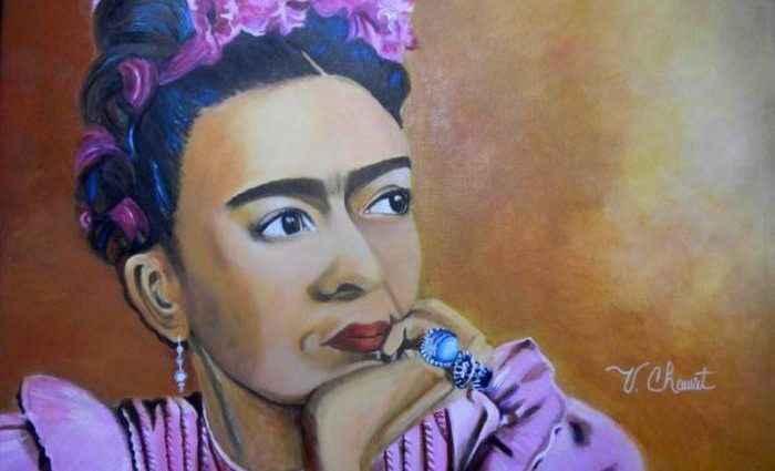 Яркая цветовая палитра. Мексиканский художник. Veronica Chauvet 1