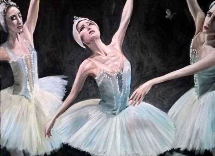 Венгерский художник. Viktoria Deri 132