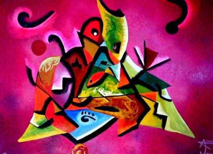 Современный мексиканский художник. Antonio Fabella 202