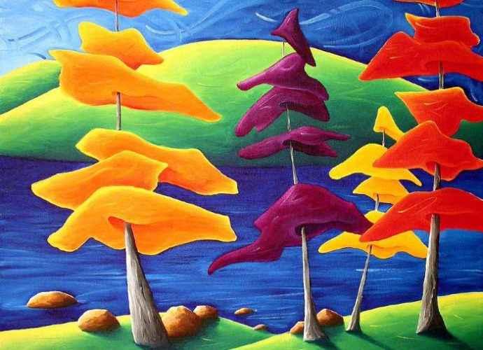 Канадский художник. Richard Hoedl 5