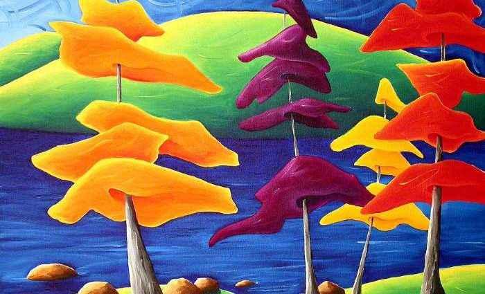 Канадский художник. Richard Hoedl 1