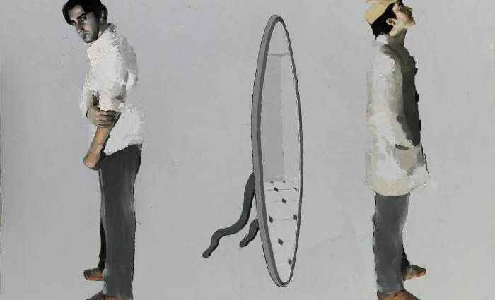 Греческий художник. Achilleas Pistonis 1