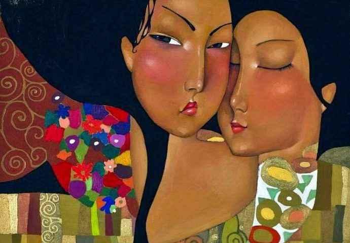Талантливая казахская художница. Akzhana Abdalieva 33