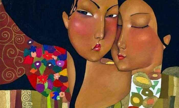 Талантливая казахская художница. Akzhana Abdalieva 1