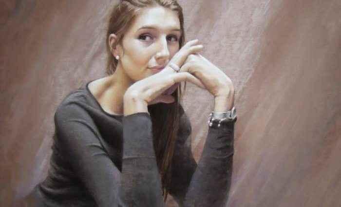 Бельгийский художник. Andree Bienfait 1