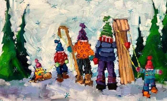 Канадский художник. Angela Morgan 1