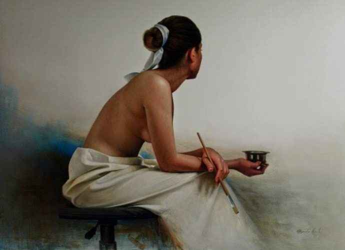 Перуанский художник. Benito Cerna 97