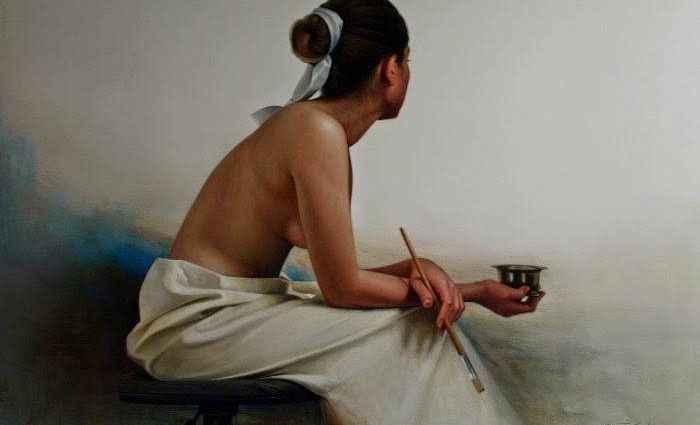 Перуанский художник. Benito Cerna 1