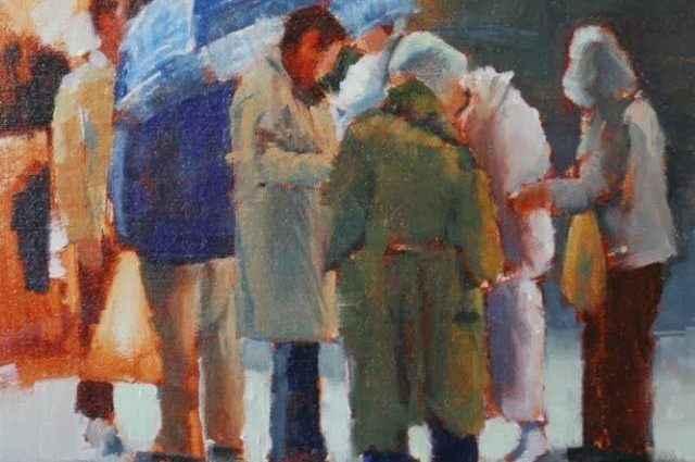 Картины пастелью и маслом. Betsy Kellum 1