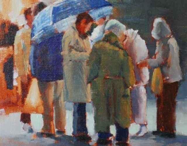 Картины пастелью и маслом. Betsy Kellum 87