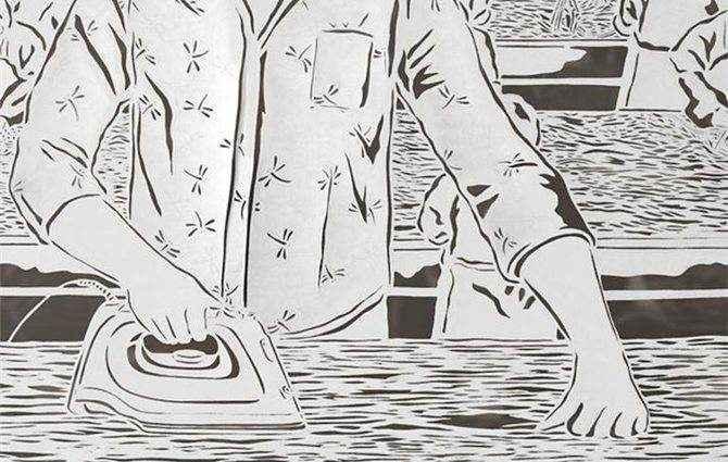 Картины из рисовой бумаги, Bovey Lee 1