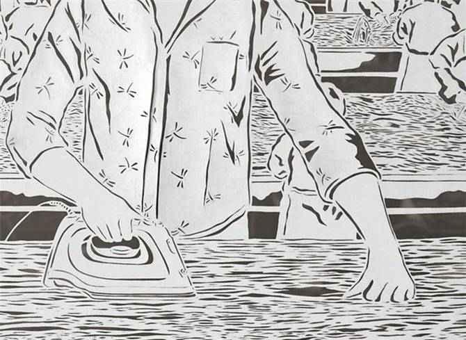 Картины из рисовой бумаги, Bovey Lee 56
