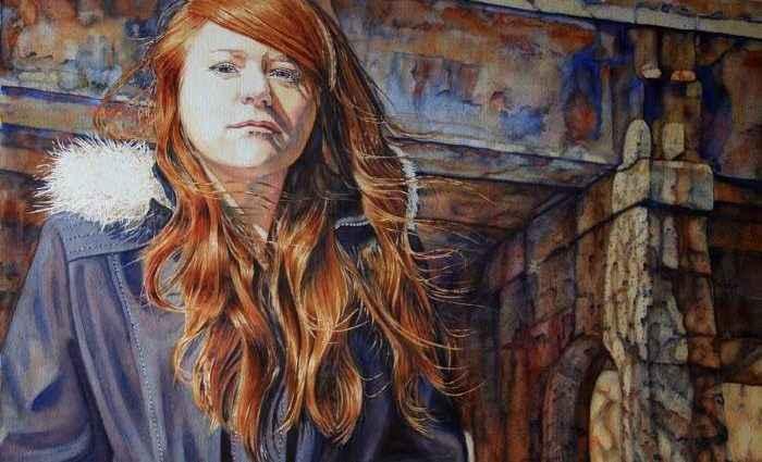 Канадская художница. Lisa O'Regan 1
