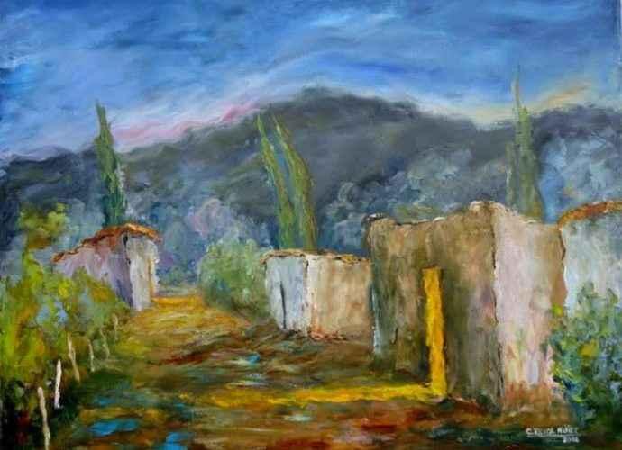 Аргентинская художница. Cecilia Revol Nunez 290