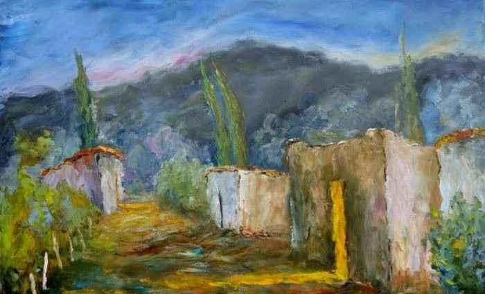 Аргентинская художница. Cecilia Revol Nunez 1
