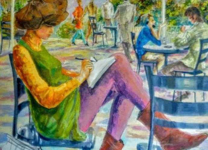 Венесуэльский художник. Damian Tirado 3