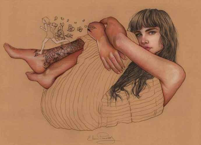 Ода вечной молодости и красоте. Elena Pancorbo 73