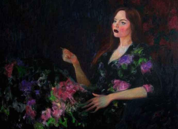Фигуративный художник из Латвии. Elina Arbidane 75