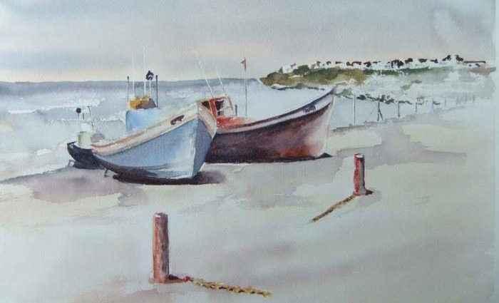 Южноафриканская художница. Elizabeth Pearson 1